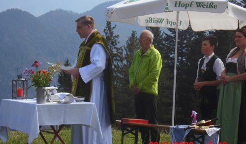 Artikelbild zu Artikel Bergmesse